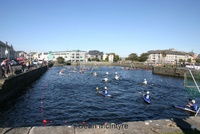 Highlight for Album: Irish Open Canoepolo 2009 - Galway